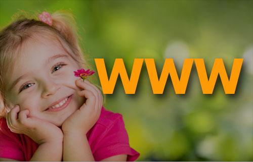 zdjęcie ze strony głównej serwisu internetowego przedszkola